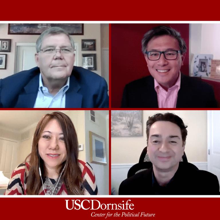 Senator Jim Brulte (ret) Moderates the USC Dornsife Future of California – Herb Klein Lecture